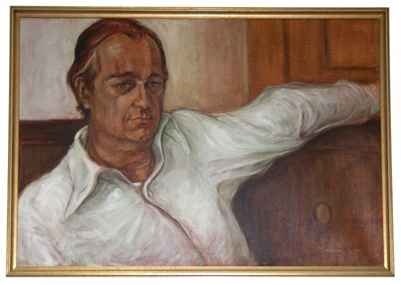 Portrait of Howard Mayer Brown by Jacqueline Morreau