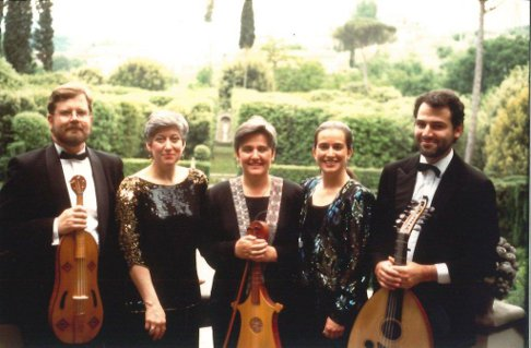 5.Newberry Consort on tour in Italy